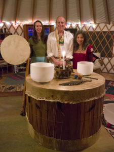 Shamanic Sound Healing, Drums, Didgeridoo, Crystal Singing Bowls, Flute