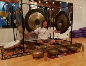 Spring Sound Immersion with Danny Goldberg, Gongs, Tibetan Singing Bowls, Ocean Drum and two special guests playing Didgeridoos for a Sound healing