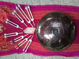 Tuning Forks, Tongue Drum, Dolphin Drum, Healing with Sound